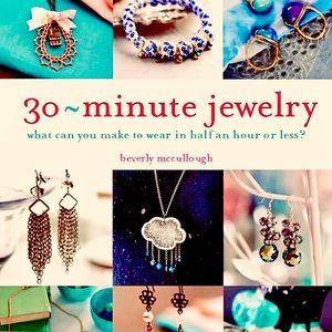 💍 NWT⭐️Thirty-Minute Jewelry: Instructional Book